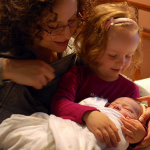 A Pink Story: Toddler Meeting Newborn For The First Time